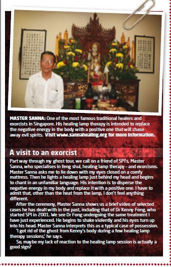 Paranormal Magazine UK April 2010 Feature